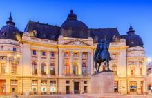 Tours, February 22, 2021, 02/22/2021, Romania: Bucharest, the Little Paris, at Night (virtual)