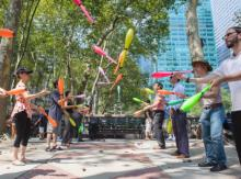 Workshops, April 17, 2021, 04/17/2021, (IN-PERSON, outdoors) Juggling in a Park
