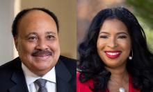 Discussions, April 01, 2021, 04/01/2021, Human Rights Advocates, Martin Luther King III and his Spouse, in Conversation (virtual)