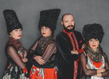 Concerts, April 15, 2021, 04/15/2021, Ukrainian 'Ethno-Chaos' Band: Mix of Folklore and Contemporary Music (virtual)