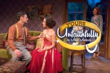 Plays, April 26, 2021, 04/26/2021, Yours Unfaithfully: 'un-romantic comedy' (virtual, streaming for 24 hours)