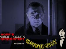 Screenings, April 14, 2021, 04/14/2021, Invisible Ghost (1941): Live Comedy Show and Horror Film Screening (virtual)