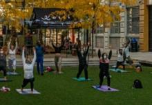 Workshops, June 09, 2021, 06/09/2021, (IN-PERSON, outdoors) Yoga on The Green