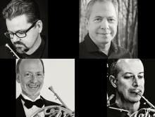 Concerts, May 19, 2021, 05/19/2021, (IN-PERSON, outdoors) Horn Quartet Performs R. Strauss, Carlos Chavez and More