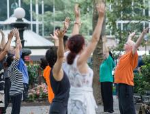 Workshops, May 27, 2021, 05/27/2021, (IN-PERSON, outdoors) Tai Chi in a Park