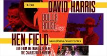 Concerts, May 07, 2021, 05/07/2021, Re-envisioned Bach, Charlie Parker and More (virtual)