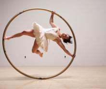 Performances, May 23, 2021, 05/23/2021, (IN-PERSON) Aerialists and Acrobats: Works-in-Progress and Show-Ready Acts