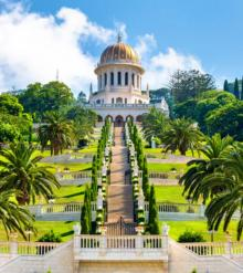 Tours, May 07, 2021, 05/07/2021, Haifa's Kaleidoscope: German Colony and Bahai Gardens (virtual)