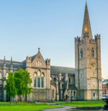 Tours, May 10, 2021, 05/10/2021, Dublin: St Patrick's Cathedral to the Bayno (virtual)