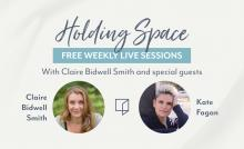 Discussions, June 16, 2021, 06/16/2021, Holding Space: Coping with Anxiety and Loss (virtual)