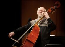 Concerts, May 25, 2021, 05/25/2021, Double Bass Legend Francois Rabbath: Music and Conversation (Zoom)