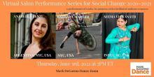 Dance Performances, June 03, 2021, 06/03/2021, Mark DeGarmo Dance's Virtual Salon Performance Series for Social Change (Zoom)