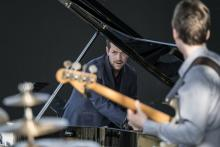 """Concerts, June 15, 2021, 06/15/2021, Jazz Band with """"a lyrical, high-energy and risk-taking pianist"""" (virtual)"""