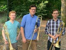 Concerts, June 25, 2021, 06/25/2021, (IN-PERSON) Brass Trio
