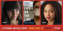 Author Readings, June 16, 2021, 06/16/2021, Life on the Line: Young Doctors Come of Age in a Pandemic (virtual)