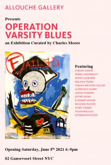 Opening Receptions, June 05, 2021, 06/05/2021, Operation Varsity Blues: A Group Exhibition