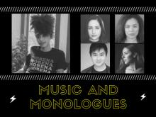 Performances, June 01, 2021, 06/01/2021, Music and Monologues (virtual)