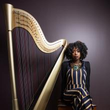 Concerts, August 07, 2021, 08/07/2021, Brandee Younger: Harp Music in Fresh New Way