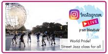 Dance Lessons, June 06, 2021, 06/06/2021, World Pride! Street Jazz for All with Gotham Dance Theater (virtual)