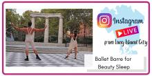 Dance Lessons, June 13, 2021, 06/13/2021, Ballet Barre for Beauty Sleep with Sheep Meadow Dance Theatre (virtual)
