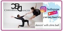 Dance Lessons, June 20, 2021, 06/20/2021, Dancin' with chrisbelldances (virtual)