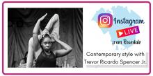 Dance Lessons, June 25, 2021, 06/25/2021, Contemporary Dance Class with Trevor Ricardo Spencer Jr. (virtual)