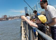 Workshops, June 12, 2021, 06/12/2021, (IN-PERSON, outdoors)Citizen Science Fishing Clinics