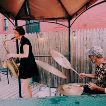 Concerts, June 12, 2021, 06/12/2021, (IN-PERSON, outdoors) Gotham Yardbird Sanctuary: Jazz in Performance