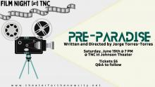 Films, June 19, 2021, 06/19/2021, (IN-PERSON, indoors) Pre-Paradise: Disregarding Filmic Conventions