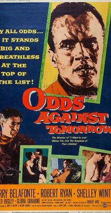 Films, June 24, 2021, 06/24/2021, Odds Against Tomorrow (1959): No Honor Among Thieves (virtual)