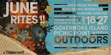 Performances, June 27, 2021, 06/27/2021, (IN-PERSON, outdoors) June Rites!!: An Hour of Stunning Live Performance
