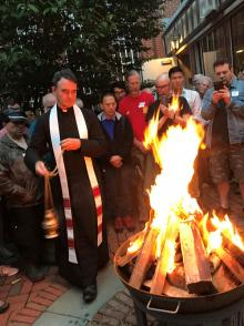 Festivals, June 23, 2021, 06/23/2021, (In-Person) Gregorian Chant, Midsummer Fire and Cook-out