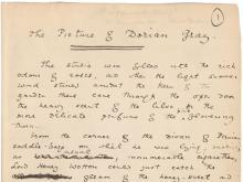 Gallery Talks, June 25, 2021, 06/25/2021, Oscar Wilde at the Morgan Library (virtual)