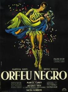 Movie in a Parks, July 30, 2021, 07/30/2021, Marcel Camus' Black Orpheus (1959): Greek Myth Set During Rio's Carnival