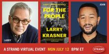 Author Readings, July 12, 2021, 07/12/2021, For the People: A Story of Justice and Power: Singer John Legend Talks to Philadelphia's Progressive DA (virtual)