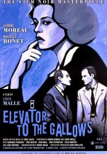 Films, July 12, 2021, 07/12/2021, Elevator to the Gallows (1958): French Murder Mystery with Music by Miles Davis (virtual)
