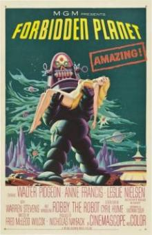 Movie in a Parks, July 23, 2021, 07/23/2021, Forbidden Planet (1956): Classic Sci-Fi
