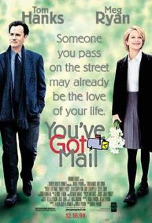 Movie in a Parks, August 11, 2021, 08/11/2021, You've Got Mail (1998): Hit Rom-Com with Tom Hanks