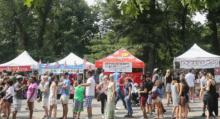 Fairs, September 19, 2021, 09/19/2021, Food Market in a Park