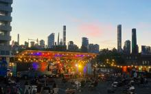 Concerts, September 03, 2021, 09/03/2021, Outdoor Performances Against the Backdrop of the City Skyline