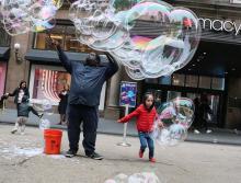 Workshops, September 07, 2021, 09/07/2021, Bubblemaking in Midtown
