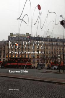 Author Readings, September 14, 2021, 09/14/2021, No. 91/92: A Diary of a Year on the Bus (online)