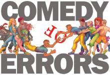 Plays, September 25, 2021, 09/25/2021, The Comedy of Errors: Shakespeare's Marooned Twins