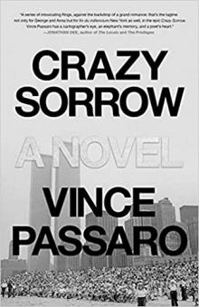 Author Readings, October 14, 2021, 10/14/2021, Crazy Sorrow: A Novel About a Couple Torn Apart (online)