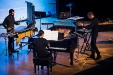 Concerts, November 09, 2021, 11/09/2021, Percussion and Piano Quartet (online)