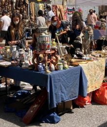 Fairs, October 30, 2021, 10/30/2021, Flea Market: Antiques, Vintage Goods, Food Vendors