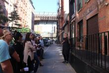 City Walks, October 23, 2021, 10/23/2021, Walking Tour: Typography and Job Printing in the 19th-Century Seaport