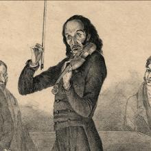 Discussions, November 15, 2021, 11/15/2021, Composer Niccolo Paganini (1782 - 1840): Virtuoso Casino-Owner (online)