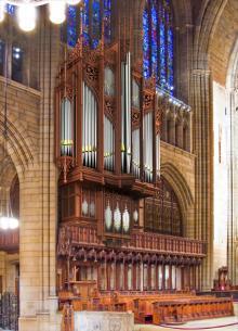 Concerts, February 18, 2018, 02/18/2018, Organ Recital: Benjamin Sheen