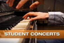 Concerts, March 28, 2018, 03/28/2018, Student Recitals